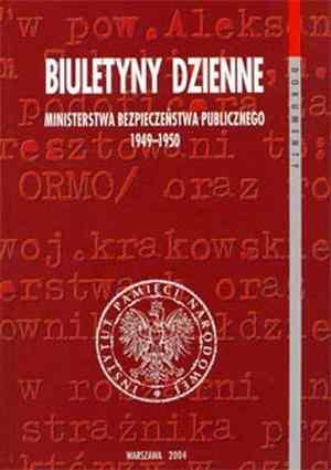 Biuletyny dzienne Ministerstwa - okładka książki
