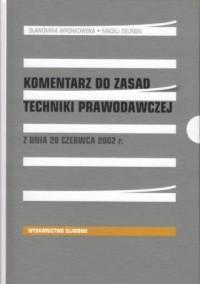 Komentarz do zasad techniki prawodawczej - okładka książki