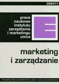 Marketing i zarządzanie - okładka książki