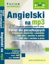 Angielski na mp3. Pakiet dla początkujących (CD mp3) - pudełko audiobooku