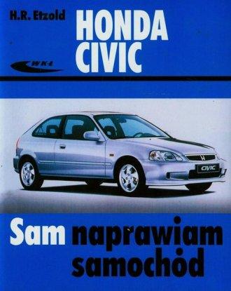 Honda Civic. Seria: Sam naprawiam - okładka książki