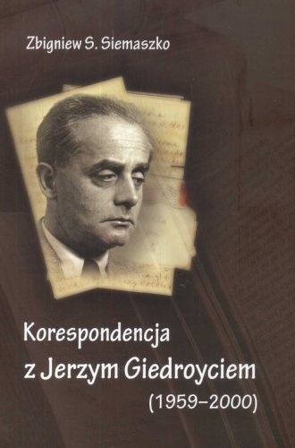 Korespondencja z Jerzym Giedroyciem - okładka książki