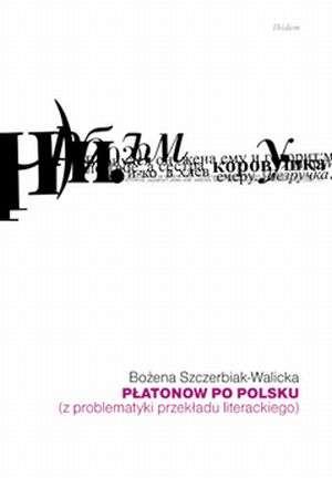 Płatonow po polsku (z problematyki - okładka książki