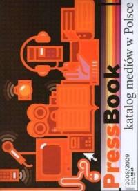 PressBook. Katalog mediów w Polsce 2008/2009 - okładka książki