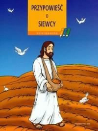 Przypowieść o siewcy. kolorowanka - okładka książki