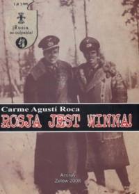 Rosja jest winna! - okładka książki