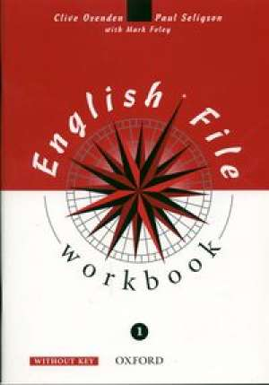 English File 1. Workbook without - okładka podręcznika