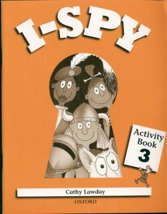 I Spy 3. Activity Book - okładka książki