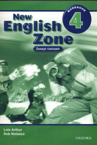 New English Zone 4. Workbook - okładka podręcznika