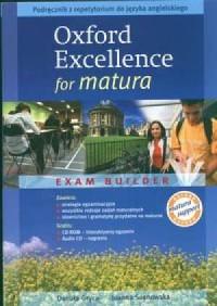 Oxford Excellence for matura. Exam builder. Podręcznik z repetytorium do języka angielskiego. Zeszyt ćwiczeń dla pozimu rozszerzonego (+ 2 CD) - okładka podręcznika