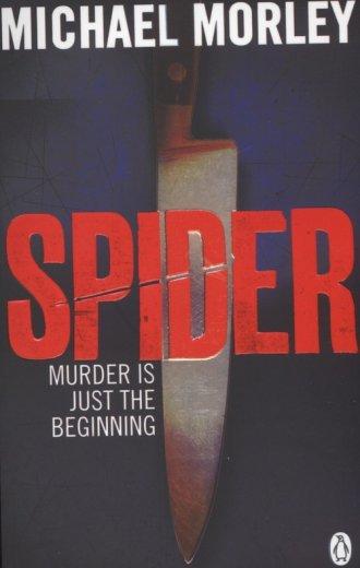 Spider - okładka książki
