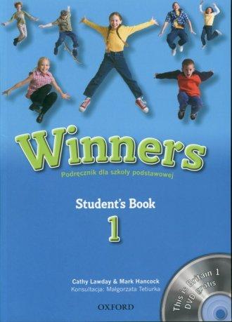 Winners 1. Student s Book. Szkoła - okładka książki