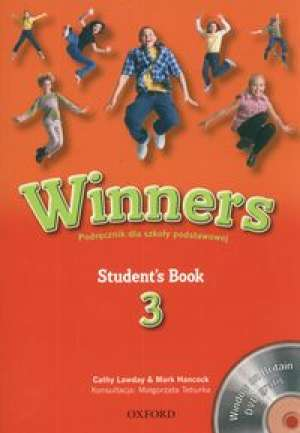 Winners 3. Szkoła podstawowa. Podręcznik - okładka podręcznika