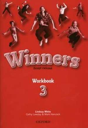 Winners 3 Workbook. Szkoła podstawowa. - okładka podręcznika