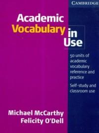 Academic Vocabulary in use - okładka podręcznika