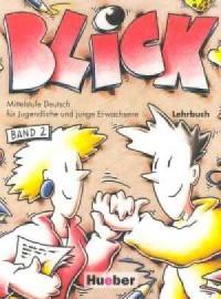 Blick 2. Podręcznik - okładka podręcznika