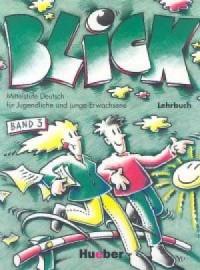 Blick 3. Podręcznik - okładka podręcznika
