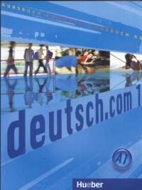 Deutsch com 1 A1 Kursbuch - okładka podręcznika