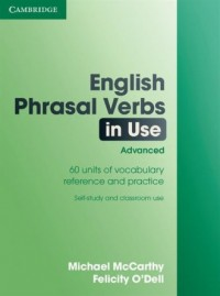 English Phrasal Verbs in use advanced - okładka podręcznika