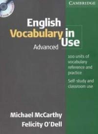 English Vocabulary in Use Advanced (+ CD) - okładka podręcznika