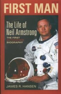 First Man The life of Neil Armstrong - okładka książki