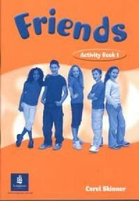 Friends 1. Activity Book - okładka podręcznika
