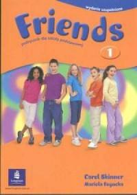 Friends 1. Podręcznik - okładka podręcznika
