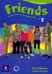 Friends 2. Język angielski. Podręcznik dla szkoły podstawowej - okładka podręcznika