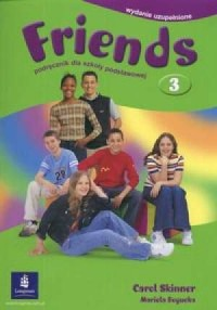 Friends 3. Język angielski. Podręcznik dla szkoły podstawowej - okładka podręcznika