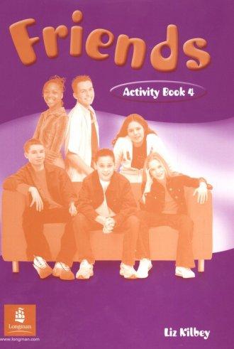 Friends 4. Język angielski. Activity - okładka podręcznika