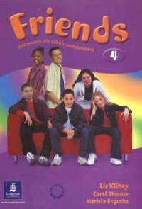 Friends 4. Język angielski. Podręcznik dla szkoły podstawowej - okładka podręcznika