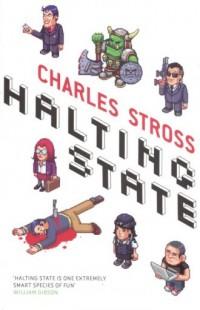 Halting State - okładka książki
