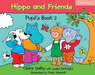 Hippo and friends 2. Pupils book - okładka podręcznika