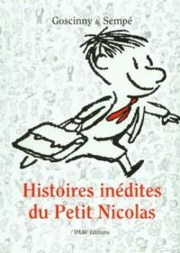Histoires inedites du Petit Nicolas 1 - okładka książki