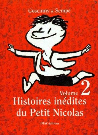 Histoires inedites du Petit Nicolas - okładka książki