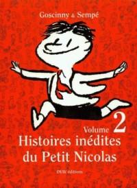 Histoires inedites du Petit Nicolas 2 - okładka książki