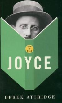 How to read Joyce - okładka książki