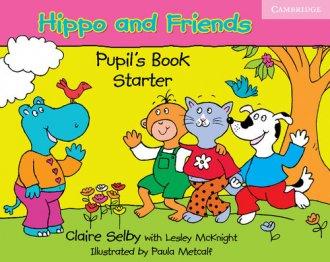 Hippo and friends. Pupils book - okładka książki