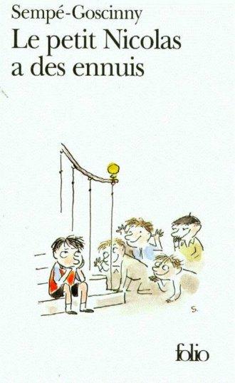 Le petit Nicolas a des ennuis - okładka książki
