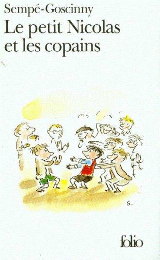 Le petit Nicolas et les copains - okładka książki