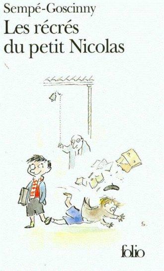 Les recres du petit Nicolas - okładka książki