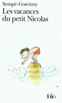 Les vacances du petit Nicolas - okładka książki