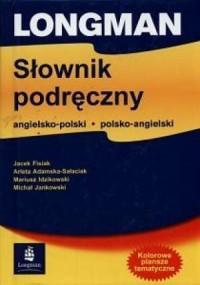 Longman. Słownik podręczny angielsko-polski, polsko-angielski - okładka książki