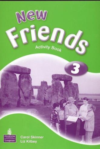 New Friends 3. Klasa 4-6. Szkoła - okładka podręcznika