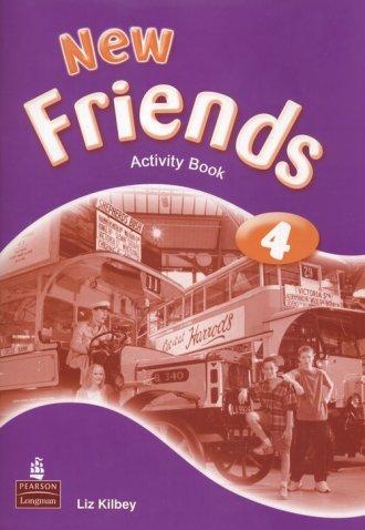 New Friends 4. Klasa 4-6. Szkoła - okładka podręcznika