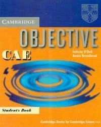 Objective CAE students book - okładka książki
