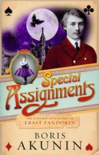 Special Assignments The Further Adventures of Erast Fandorin - okładka książki