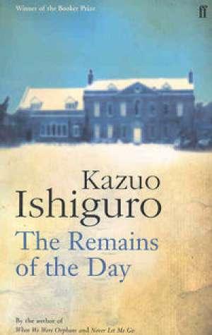 The Remains of the Day - okładka książki
