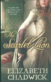 The Scarlet Lion - okładka książki