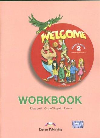 Welcome 2. Workbook - okładka podręcznika
